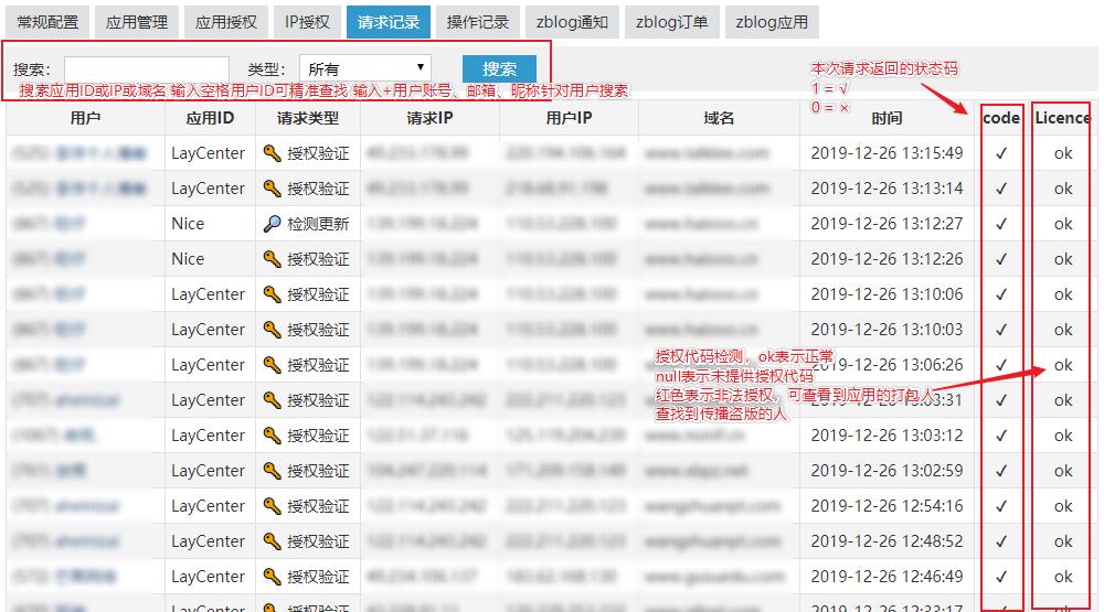 zblog开发者应用授权系统  第6张