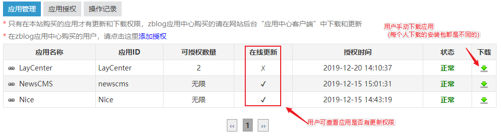 zblog开发者应用授权系统  第12张